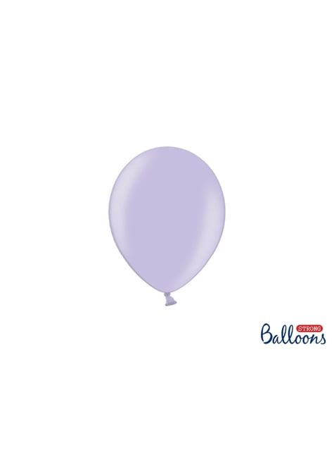 100 ballons extra résistants 12 cm violet