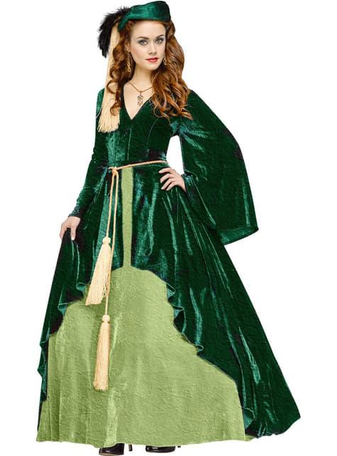 Disfraz de princesa Scarlett classic para mujer