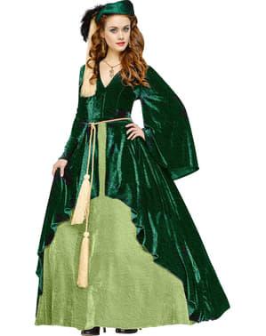 Prinses Scarlett classic kostuum voor vrouw