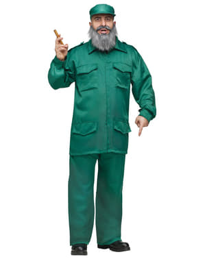 Disfraz de Fidel cubano