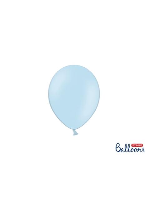 100 ballons extra résistants 12 cm bleu foncé