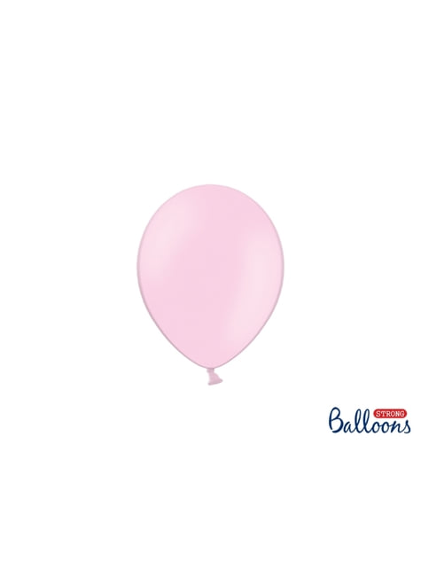 100 ballons extra résistants 12 cm rose