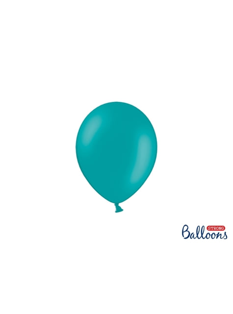 100 ballons extra résistants 12 cm bleu ciel