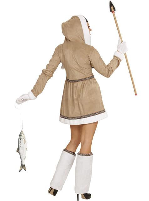 Womens Plus Size Sexy Eskimo Costume