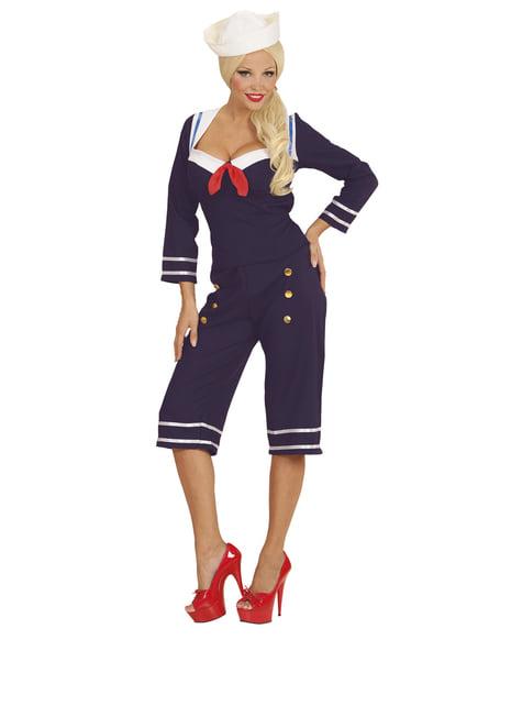 Disfraz de marinera de los años 50's para mujer - mujer