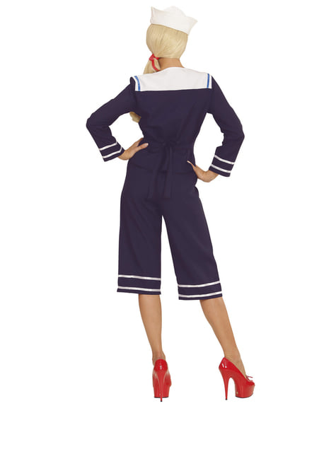 50s sailor costume for a woman
