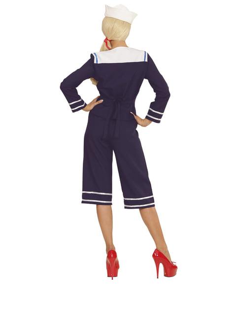 Matroos Jaren' 50 Kostuum Voor vrouw
