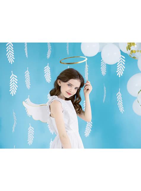 Alas y corona de ángel para photocall