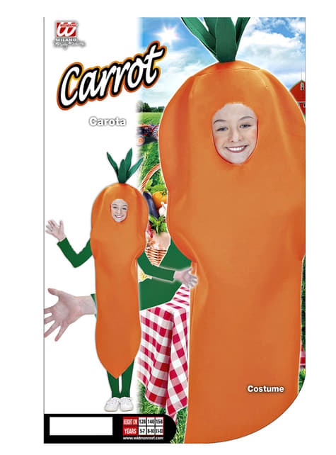 Carrot costume for Kids