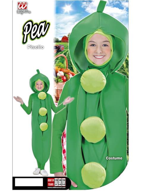 Pea costume for a child