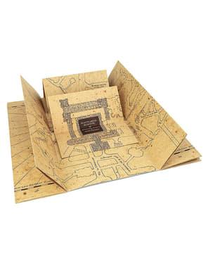 Ρεπλίκα Χάρτης του Marauder's Map Harry Potter