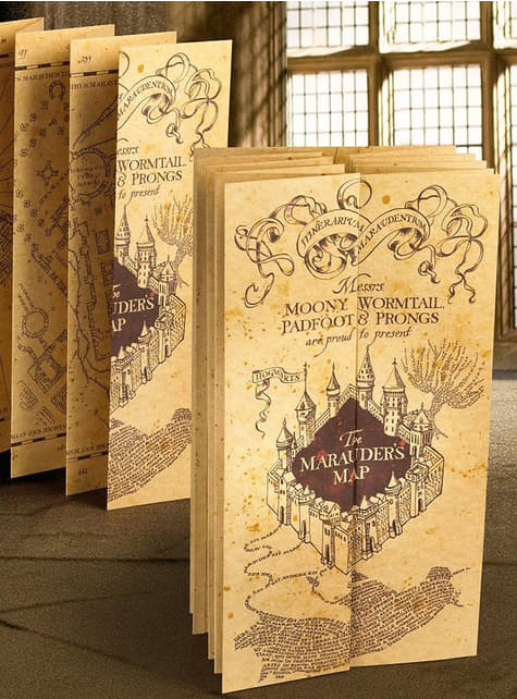 Mapa del Merodeador Harry Potter