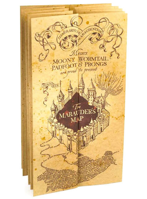 Carte du Maraudeur Harry Potter