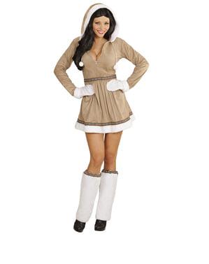 Eskimojente kostyme for dame