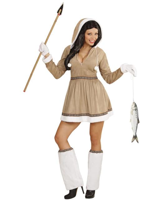 Disfraz de esquimal para mujer - mujer