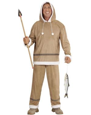 Eskimo kostyme for mann