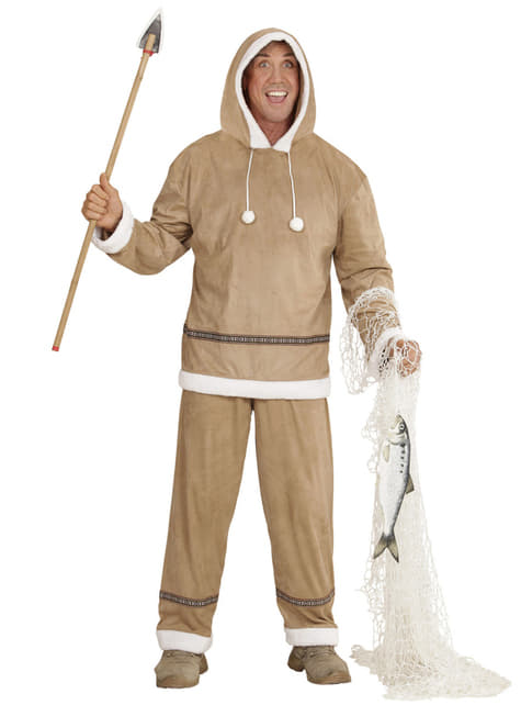 Eskimo costume for a man