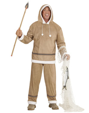 Eskimo costume for a man