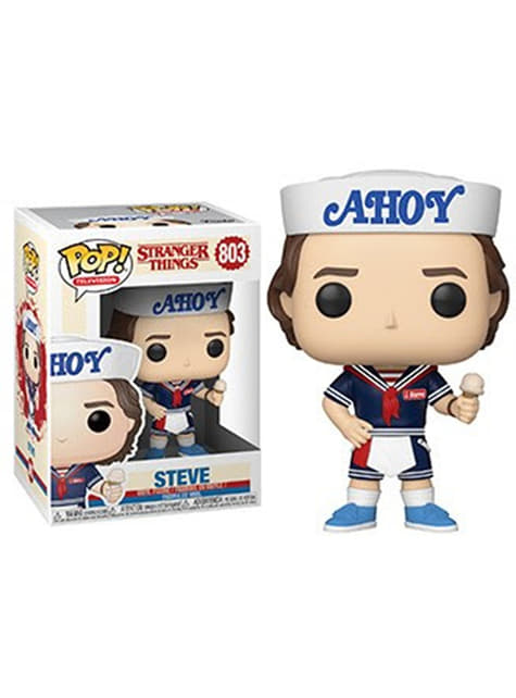 Funko POP! Steve with hat and ice cream - Stranger Things
