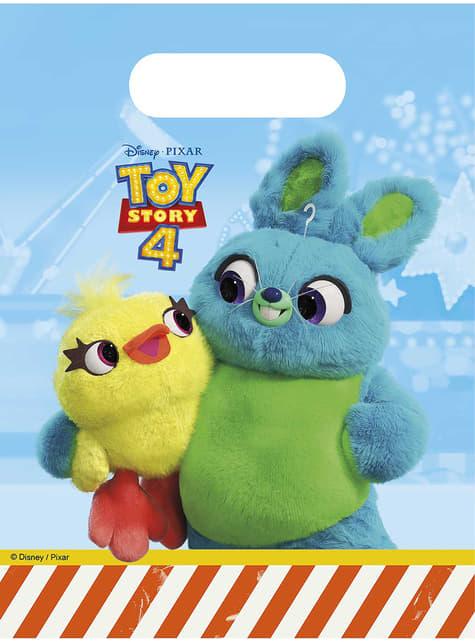6 Toy Story 4 feest tassen
