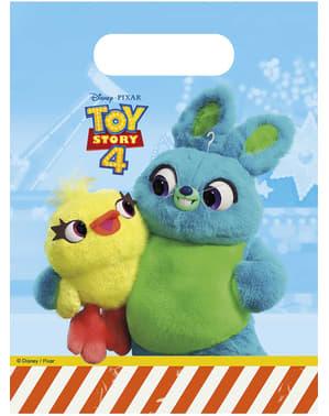 6 sacchetti per dolciumi Toy Story 4