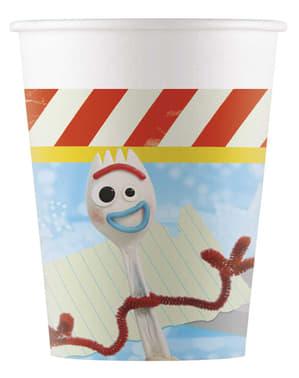 8 vasos de Toy Story 4