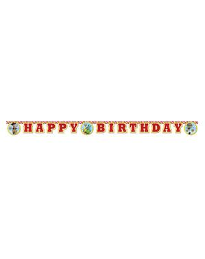 Happy Birthday Schild aus Toy Story 4