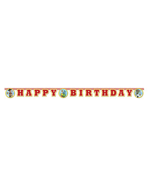 Panneau Happy Birthday de Toy Story 4