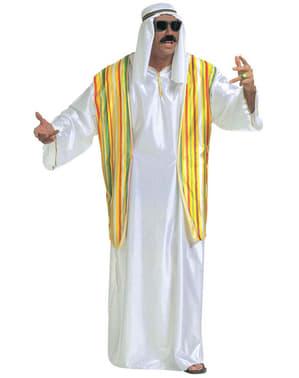 Millionær Sjeik Kostyme til Menn