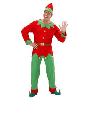 Costum de Spiriduş de Crăciun pentru bărbat