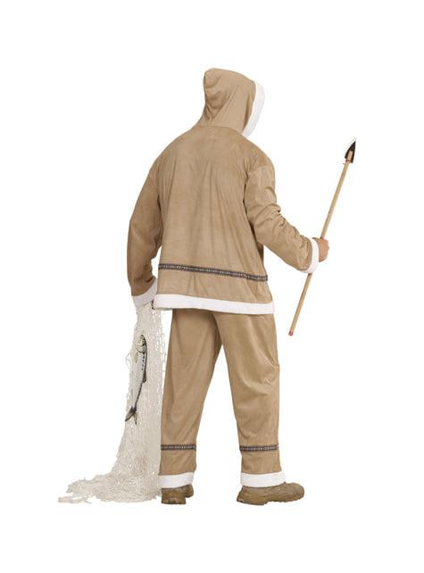 Mens Plus Size Eskimo Costume