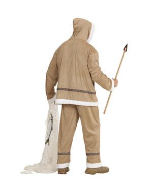 Costum de eschimos pentru bărbat mărime mare