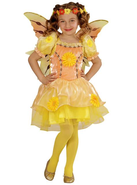 Disfraz de hada del verano para niña