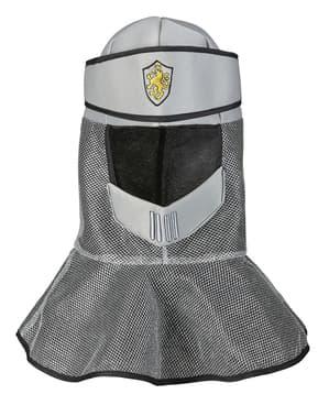 Middelalder hjelm i stoff til mann