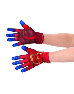 Captain Marvel gloves for adults