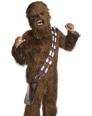 Máscara de Chewbacca Movable Jaw para homem - Star Wars