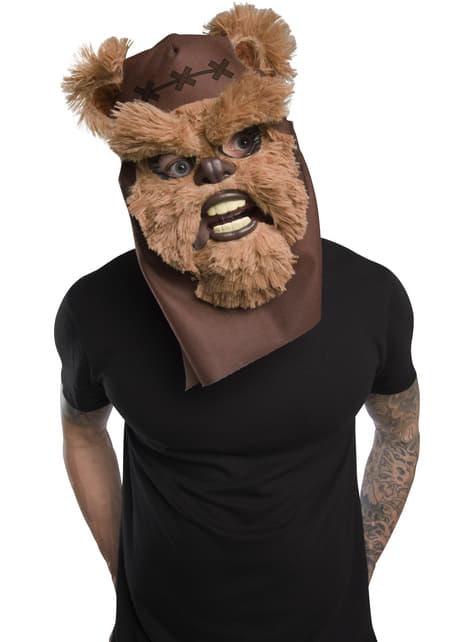 Máscara de Ewok Movable Jaw para hombre - Star Wars - para tu disfraz