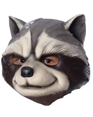 Lateksowa maska Szop Rocket dla chłopców - Avengers