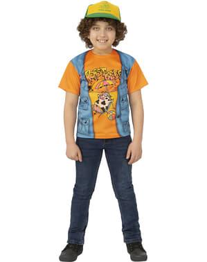 Dustin sviečkovica T-Shirt pre chlapcov - zvláštnejšie veci 3