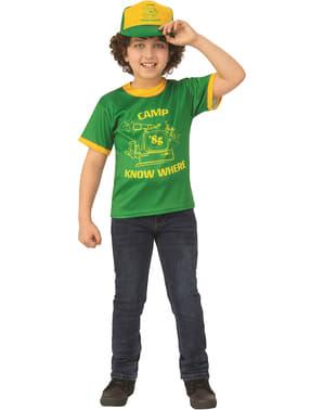 Stranger Things 3 Dustin Camp T-Shirt for Boys