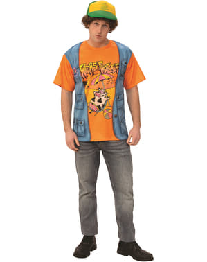 Dustin sviečkovica T-Shirt pre mužov - zvláštnejšie veci 3