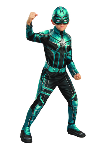 Yon Rogg Costume For Boys Captain Marvel Express Delivery Funidelia Check out our captain marvel costume selection for the very best in unique or custom, handmade pieces from our costumes shops. funidelia