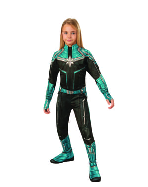 Costum Kree pentru fată – Căpitana Marvel
