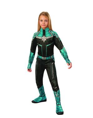 Fato de Kree para menina - Captain Marvel