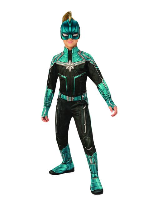 Disfraz de Kree para niña - Capitana Marvel - niña
