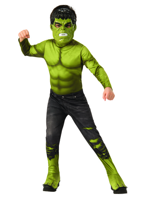 Deluxe Hulk ripped trousers costume for boys - The Avengers