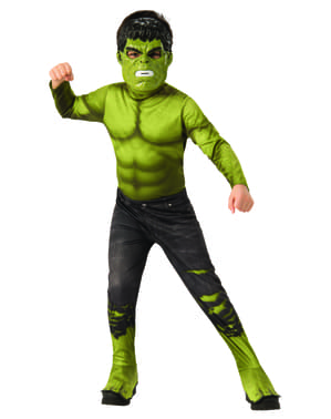 Делюкс Hulk рвані штани костюм для хлопчиків - Месники
