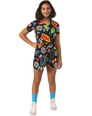 Eleven Mall Dress Costume for Girls - Stranger Things 3