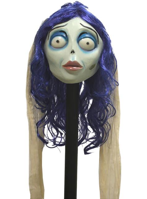 Máscara Emily de La Novia Cadáver classic de látex