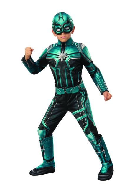 Disfraz de Yon Rogg deluxe para niño - Capitana Marvel